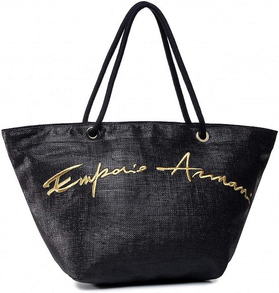 Emporio armani, borsa mare a mano/spalla per donna, in materiale sintetico 2625870P824