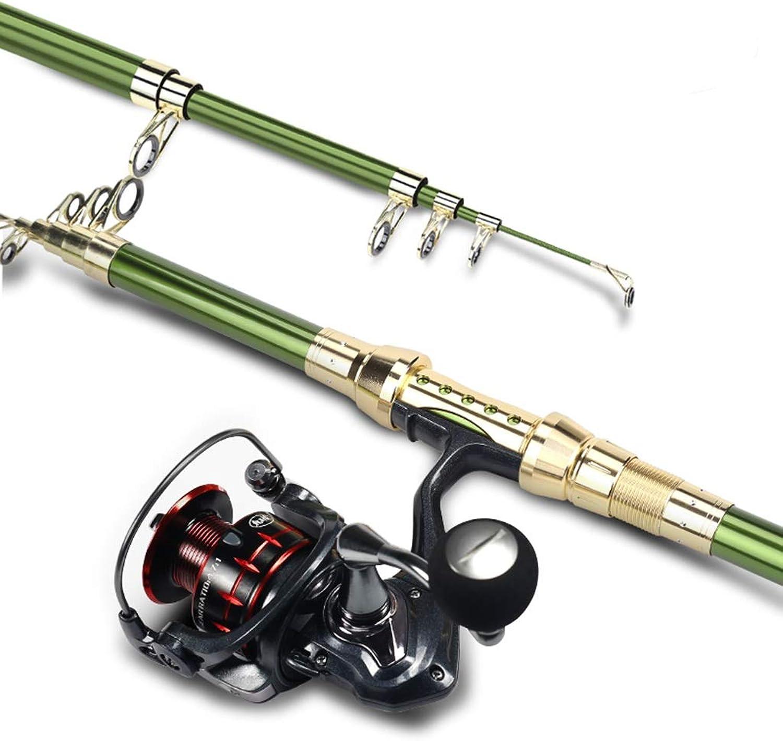 Fishing Rod Super Carbon Fishing Gear Portable Retractable Ultra