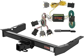 CURT Class 3 Trailer Hitch Bundle with Wiring for 1995-1998 Ford Windstar - 13085 & 55346