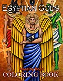 Amazing Book! - Egyptian Gods Coloring Book: A Wonderful Tool For Relaxation And Relieve Stress