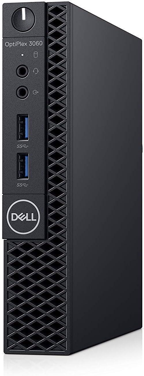 Dell OP3060MFFP5WWV OptiPlex 3060 P5WWV Micro PC with Intel Core i5-8500T 2.1 GHz Hexa-core, 4GB RAM, 500GB HDD, Windows 10 Pro 64-bit