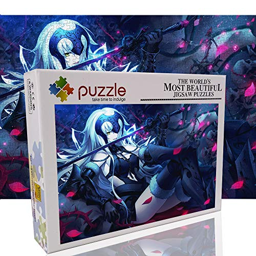 """Puzzle da spadaccino femminile per adulti 1000 pezzi Puzzle The Avengers 1000 pezzi Puzzle di opere d'arte Decorazioni uniche 27,6""""x 19,7"""" -Anime"""