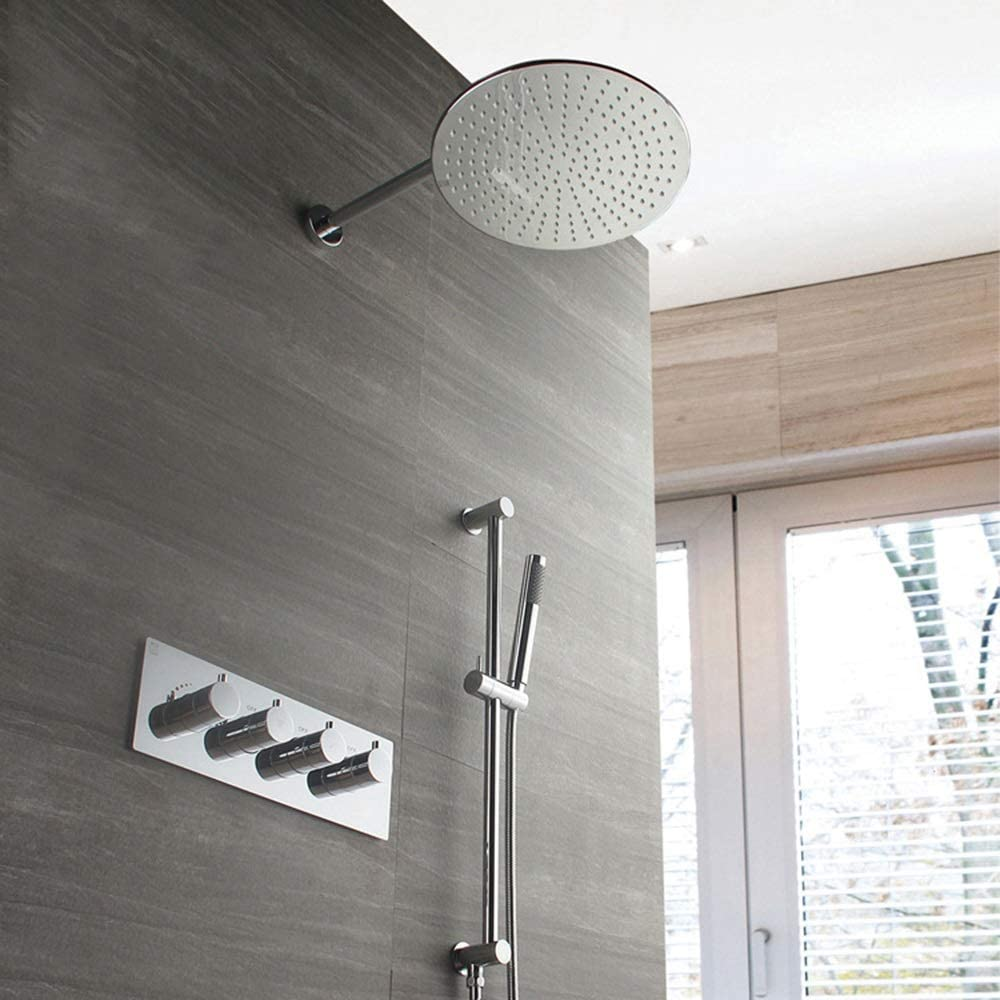 XUXUWA Bathroom Today's only Shower System Wall-Mounted S Max 40% OFF Thermostatic