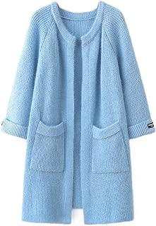 Howely Women Plus Size Cardigan Coat Jacket Knit Utility Pocket Cardigan