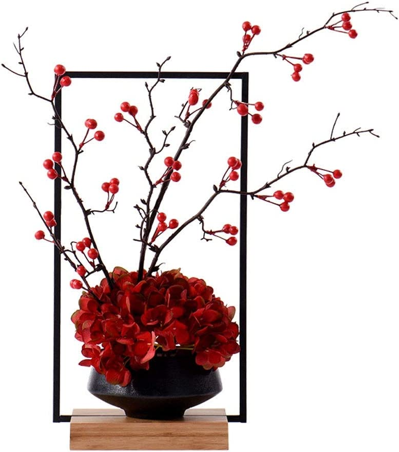 El Paso Mall Artificial Flowers with Vase Chinese San Antonio Mall Flower Zen Pot Simulation P