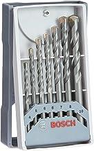 Bosch Professional 7 pièces CYL-3 Jeu de forets à béton Set (pour béton, Ø 4/5/6/6/7/8/10mm, accessoires perceuse à percu...