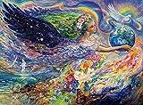 mlpnko DIY Dipingere con i Numeri Madre Terra DIY Dipinto ad Olio, Dipingere con i Numeri Kit Decorazioni per la casa Regalo di Valore