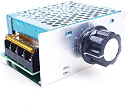 ANGEEK AC 220V 4000W SCR Regulador de voltaje Regulador Regulador Regulador Motor Termostato Velocidad Controlador Módulo