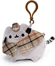 GUND Pusheen Detective Stuffed Plush Backpack Clip, 4.5