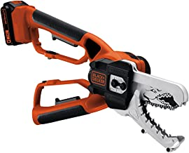 BLACK+DECKER 18V Cordless Alligator Lopper Chainsaw with 2.0Ah Lithium Ion Battery