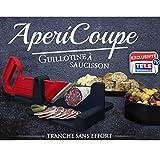AperiCoupe – Guillotine à saucisson 30x18,5x12,5cm – L'indispensable pour vos apéritifs et buffets dinatoires.