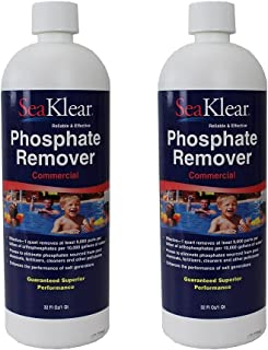 2 Pack SeaKlear Phosphate Remover Commercial 32oz