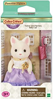 Calico Critters Town Girl Series - Silk Cat Bundled with Toy Poodle