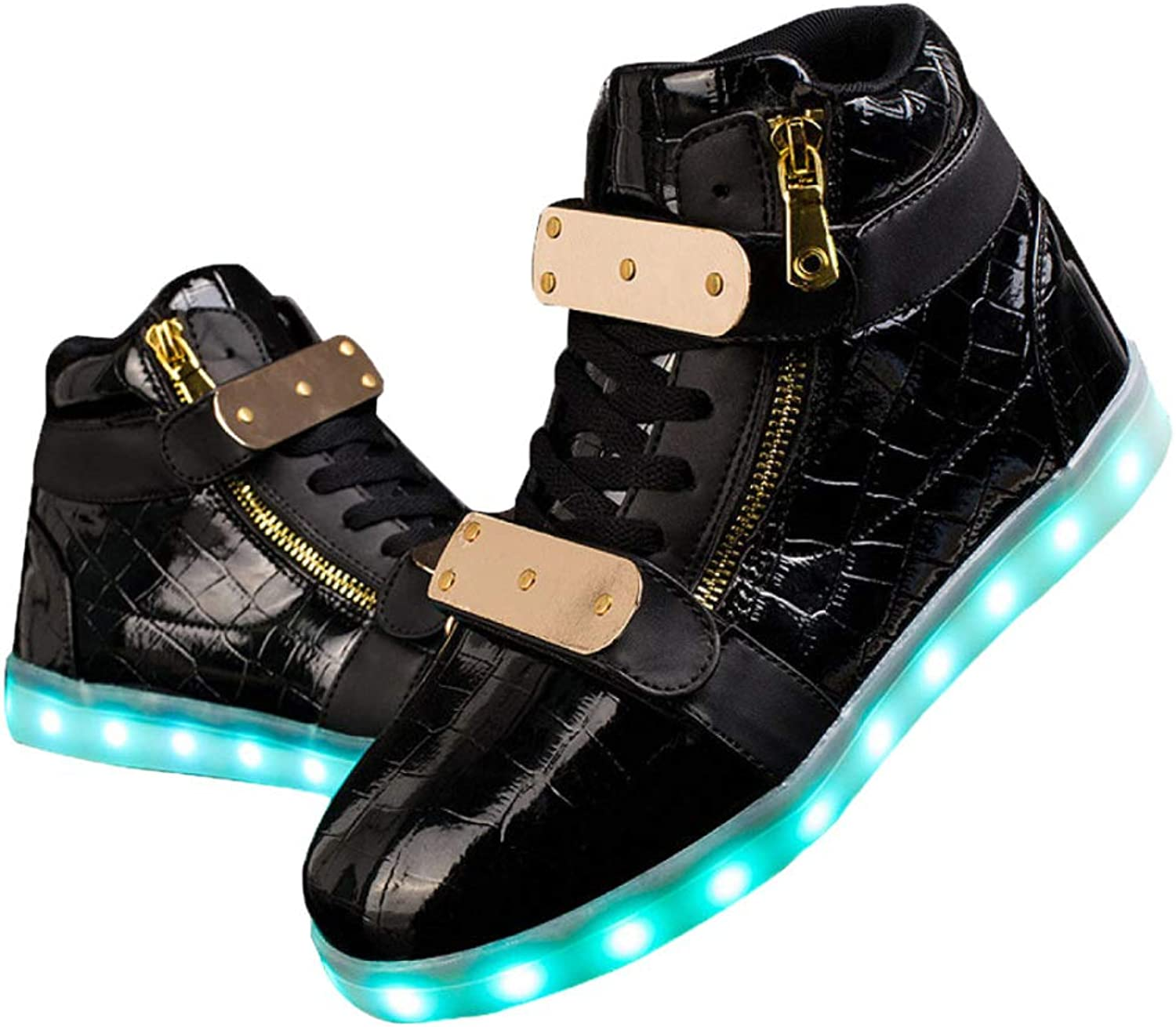 Men's And Women's Shiny Fashion Sneakers