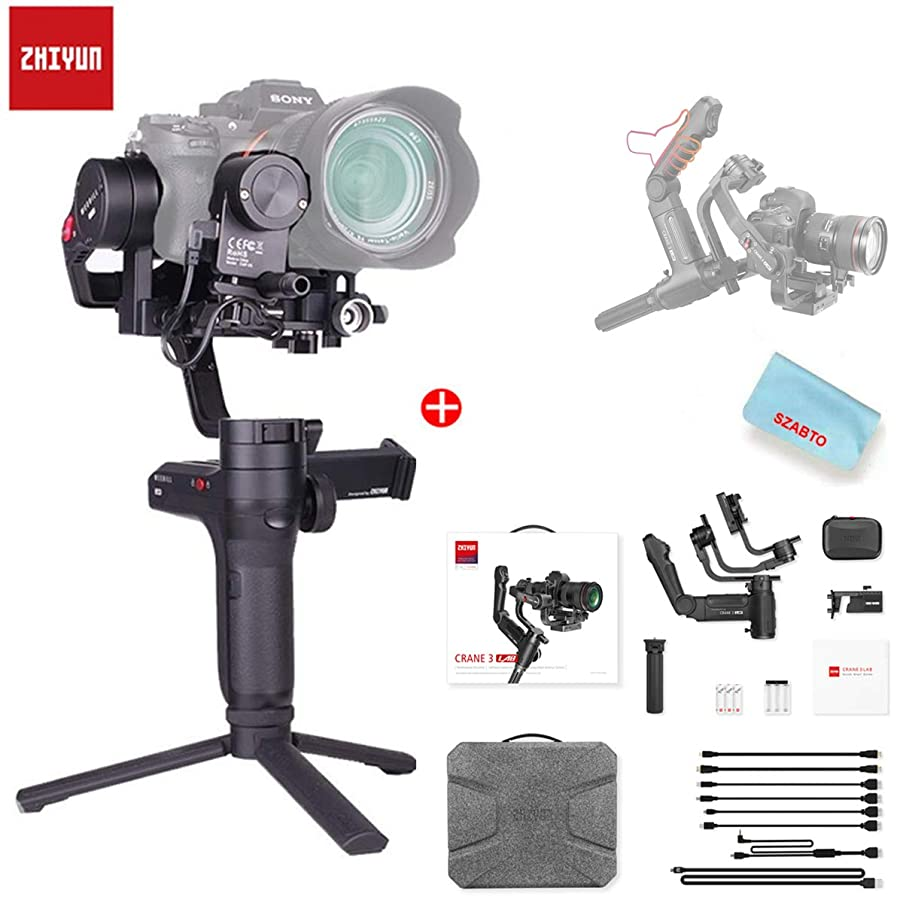 Zhiyun Weebill LAB 3-Axis Wireless Image Image Transmission Camera Stabilizer for Mirrorless Camera OLED Display Handheld Gimbal (for Sony A7S A7M3 A7R3 A7R2 A7S2 A6500 A6300 Panasonic GH5 GH5s)