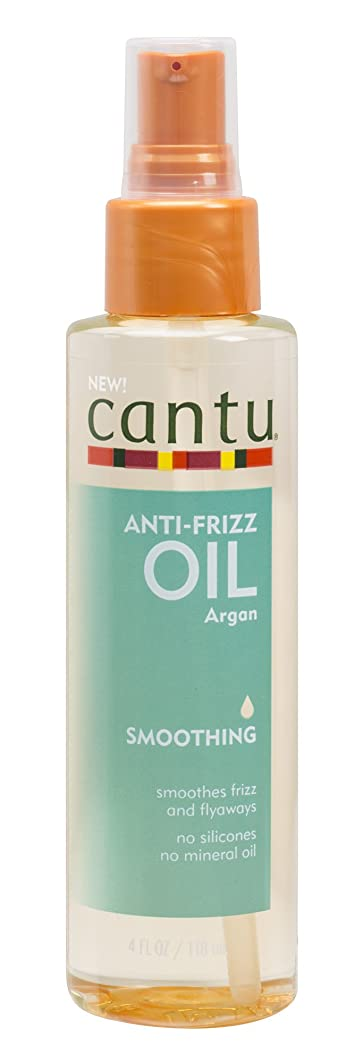Cantu Anti Frizz Smoothing Oil, 4 Fluid Ounce