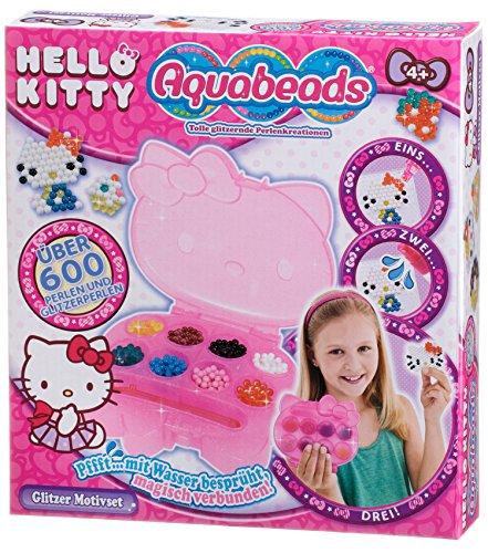 Aquabeads 79968 Hello Kitty Glitzer Motivset Bastelspielzeug