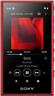 ソニー ウォークマン 16GB Aシリーズ NW-A105 : ハイレゾ対応 / bluetooth / android搭載 / microSD対応 タッチパネル搭載 最大26時間連続再生 レッド NW-A105 R