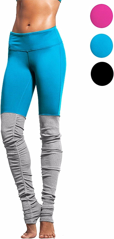 Fittoo Yoga Pants Goddess Legging Double Candy color Yoga Leggings