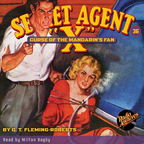 "Secret Agent ""X"" #36 audiobook cover art"
