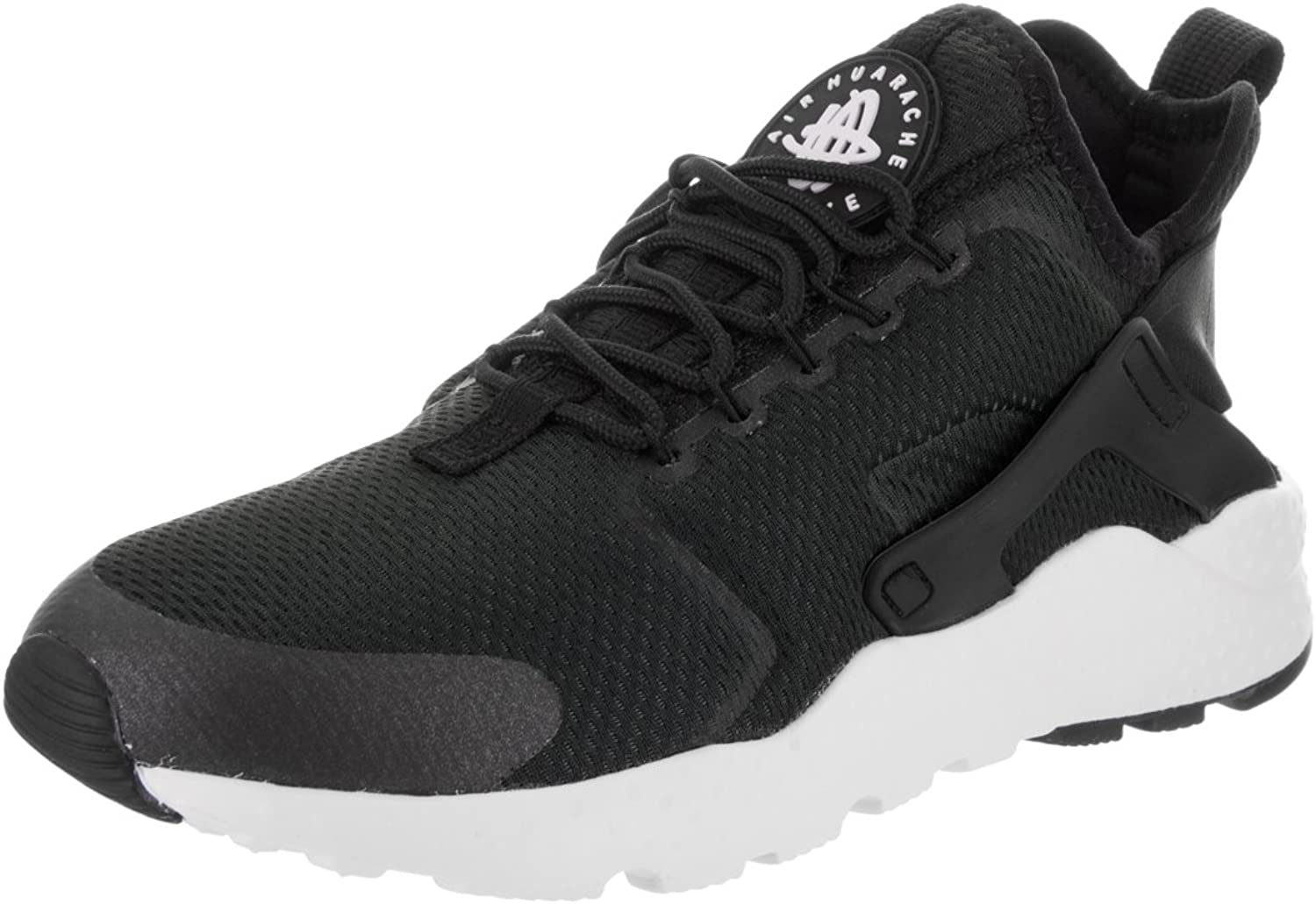Nike Women's Air Huarache Run Ultra Low-Top Sneakers Black