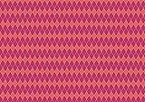 Tela de algodón egipcio 100% con estampado de arlequín rosa de 1 metro, tela de cuadros impresos, material de costura ajustado, tejido de 112 cm de ancho