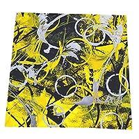 黄色な丸アート ディナーナプキン 洗える食事口拭きナプキン 2枚セット 4枚セット 6枚セットテーブルナプキン 防汚 清潔簡単 学校 会社 レストラン 食卓飾り50*50cm