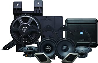 Alpine Electronics PSS-21GM Alpine Restyle 2-Way Sound System for 2007-2013 Chevy Silverado or GMC Sierra Trucks Without the Bose Factory System