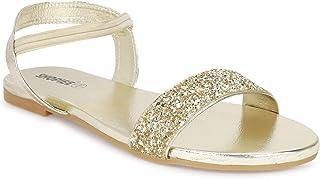 SHOFIEE Women Stylish Fancy and comfort Trending Flat Fashion sandal