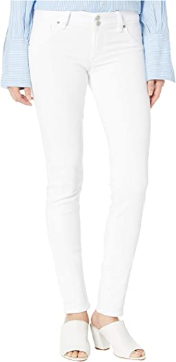 7571c33bcee Hudson nico mid rise super skinny in white white | Shipped Free at ...