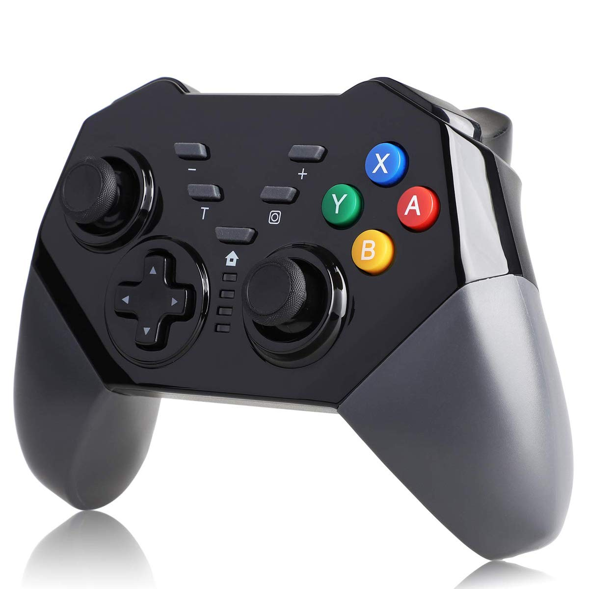 QULLOO Nintendo Switch Mando Controller Wireless Pro Controlador Inalámbrico Gamepad Bluetooth Controller Joypad Joystick con Turbo y Dual Shock Functions para Nintendo Switch: Amazon.es: Electrónica