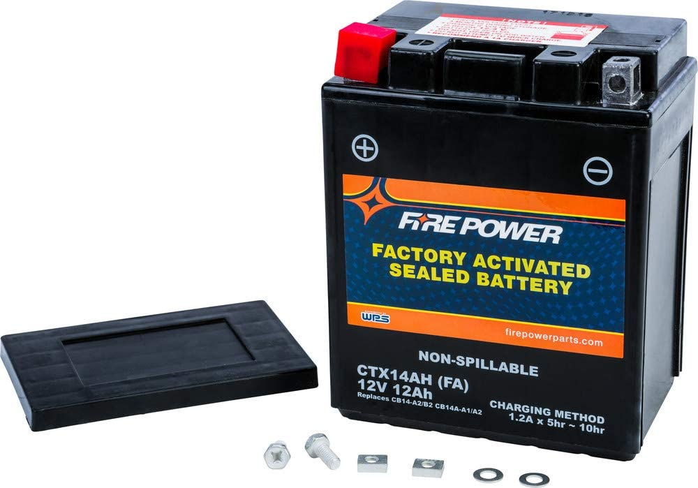 Fire List price Power Sealed Factory Activated CTX14AH-BS Battery free shipping FA Compa