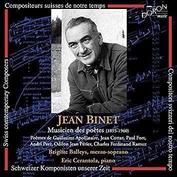 Jean Binet: Musicien des poètes (Compositeurs suisses de notre temps)