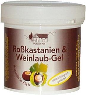 Rosskastanien- und Weinlaub-Gel 250ml - Allgäu Pullach Hof