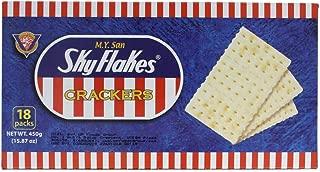 M.y San Skyflakes Saltine Crackers Pack of Two Boxes 15.87 Ox Per Box or 18 Packs Per Box