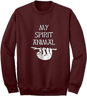 Indica Plateau Sloth is My Spirit Animal Unisex Adult Sweatshirt