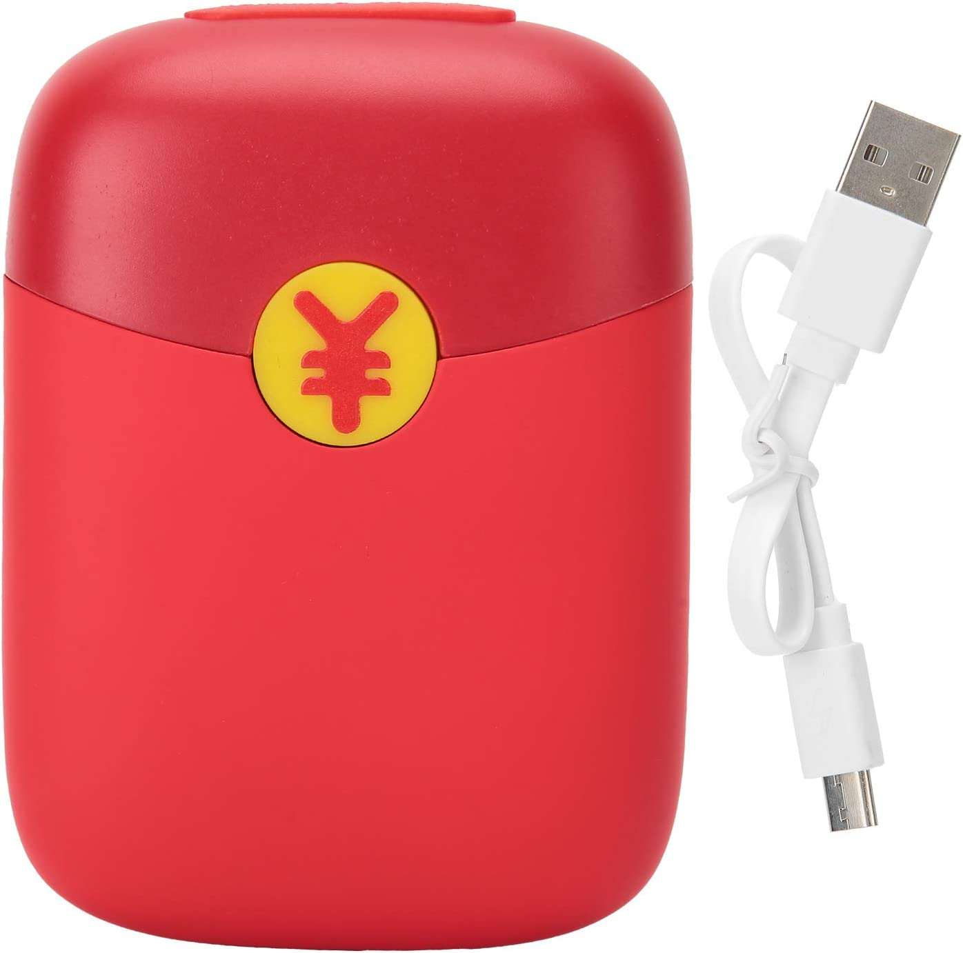 Red Hand Warmer Abs and Aluminum 10W 70% OFF Outlet Silicone Port Phoenix Mall 2A Alloy