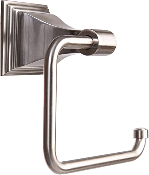 Arista Bath Products Leonard Series Toilet Paper Holder Satin Nickel