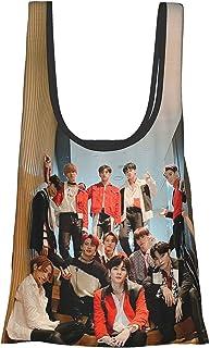Jo1 1st (3) 折叠 购物袋 环保袋 购物袋 多功能 大容量 小巧 手提包 时尚 肩背 包 口袋尺寸 携带方便 男女通用