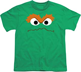 Sesame Street Character Face Youth T Shirt & Stickers