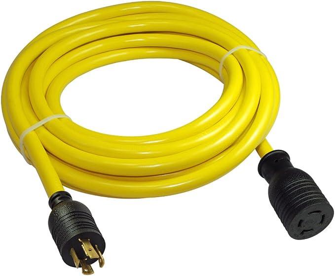 Brand Plug /& Connector Set Nema L15-20 20A 250V 3Ph *Brand May Vary* Used Misc