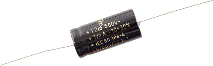F&T Type A Axial Polarized Electrolytic Capacitor, 22uf 500V
