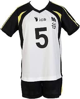 Haikyu Haikyuu Cosplay Fukurodani Uniform #5 Keiji Akaashi Volleyball Jersey Costume