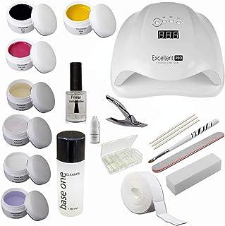 Kit de introducción Starterset Nail con geles de colores – Kit de introducción para centros de belleza – Kit de introducci...