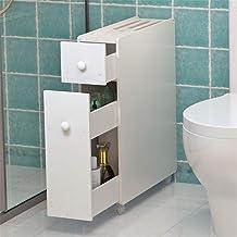 Home Equipment Free-standing Cabinet With White Floor Bathroom Cabinet Multifunctional Furniture Waterproof Self-standing ...