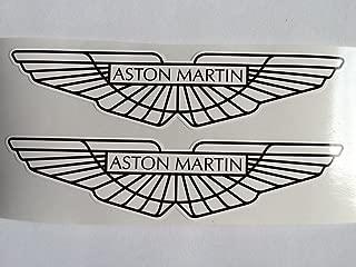 2 Aston Martin Wings Black & White 3