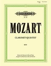 Mozart: Clarinet Quintet, K. 581 (arr. for clarinet & piano)