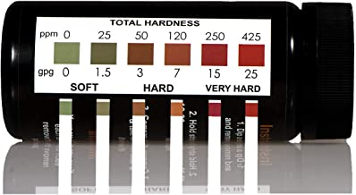 JNW Direct Water Total Hardness Test Strips, 150 Strip MEGA Pack, Best Kit for Accurate..