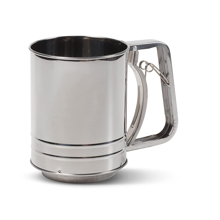 Farberware Classic Stainless Steel Flour Sifter (3-Cup)