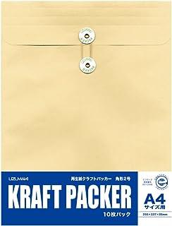 菅公工業 再生紙クラフトパッカー 角2 10枚パック ホ038